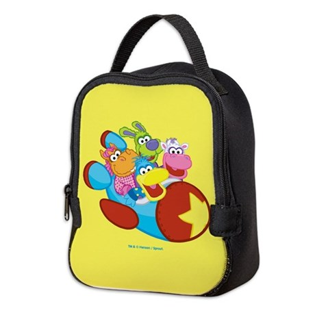 Pajanimals Blastoff Neoprene Lunch Bag