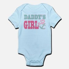 Daddys Girl Boat Anchor and Heart Body Suit