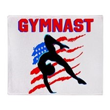 CHAMPION GYMNAST Throw Blanket