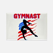 CHAMPION GYMNAST Rectangle Magnet
