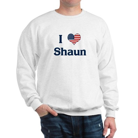 I Love Shaun Sweatshirt