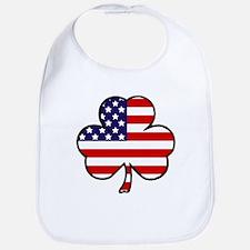 'USA Shamrock' Bib