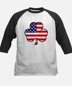 'USA Shamrock' Kids Baseball Jersey