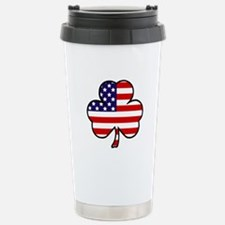 'USA Shamrock' Travel Mug