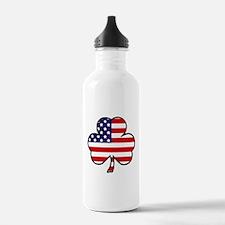 'USA Shamrock' Water Bottle