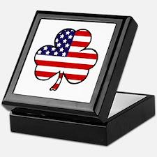 'USA Shamrock' Keepsake Box