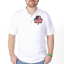 'USA Shamrock' T-Shirt