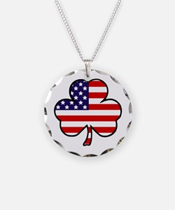 'USA Shamrock' Necklace