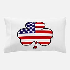 'USA Shamrock' Pillow Case
