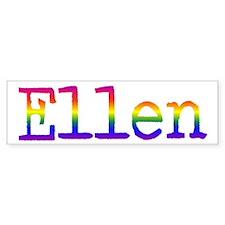 Ellen Bumper Bumper Sticker