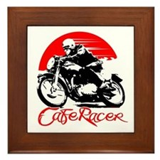 Cafe Racer Framed Tile