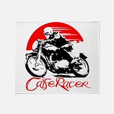 Cafe Racer Throw Blanket