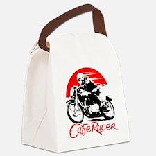 Cafe Racer Canvas Lunch Bag