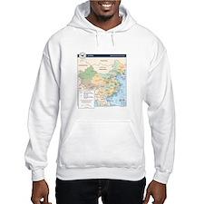 China Map Hoodie