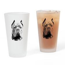 Cane Corso Dog Drinking Glass