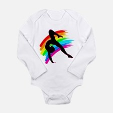 DAZZLING GYMNAST Long Sleeve Infant Bodysuit