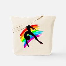 DAZZLING GYMNAST Tote Bag