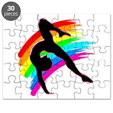 DAZZLING GYMNAST Puzzle