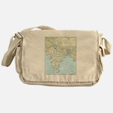 India Map Messenger Bag