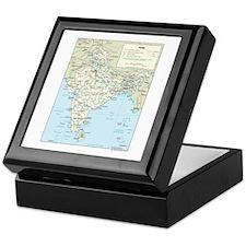 India Map Keepsake Box