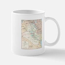 Iraq Map Mug