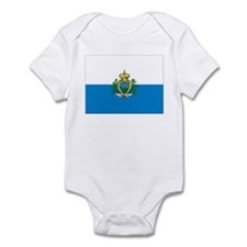Flag of San Marino Infant Bodysuit
