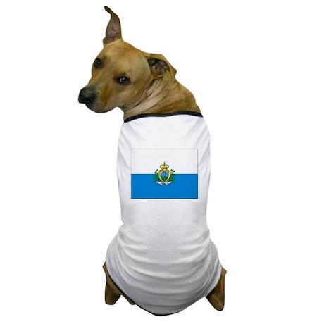 Flag of San Marino Dog T-Shirt