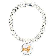 Hawaiian Doxie Dachshund Bracelet