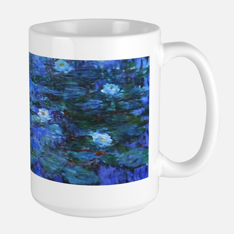 Mug - Monet Nympheas Bleus Mugs