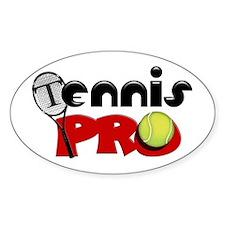 Tennis Pro Decal