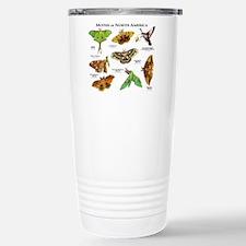 Moths of North America Stainless Steel Travel Mug