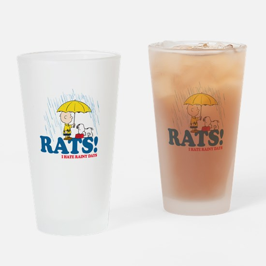 Rats! Drinking Glass