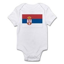 Flag of Serbia Infant Bodysuit
