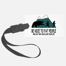 Fat people Luggage Tag