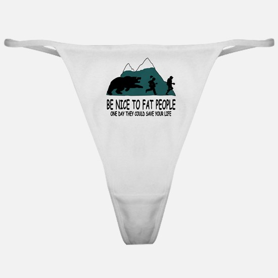 Fat people Classic Thong