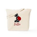 1 Ladybug BELLA - Custom Tote Bag