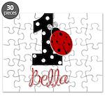 1 Ladybug BELLA - Custom Puzzle