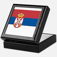 Flag of Serbia Keepsake Box