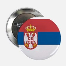 Flag of Serbia Button