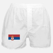 Flag of Serbia Boxer Shorts