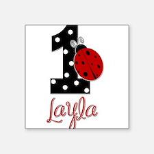 1 Ladybug LAYLA - Custom Sticker