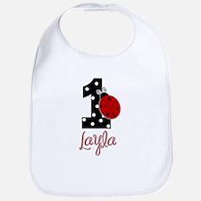 1 Ladybug LAYLA - Custom Bib