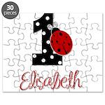 1 Ladybug ELISABETH - Custom Puzzle