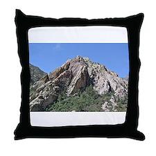 Mountains Summit Throw Pillow