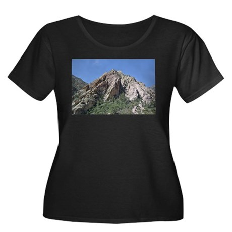 Mountains Summit Plus Size T-Shirt
