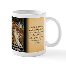 Birth Of Venus Historical Mugs