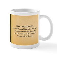 Mona Lisa Historical Mugs