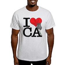 I Love CA-nnabis T-Shirt