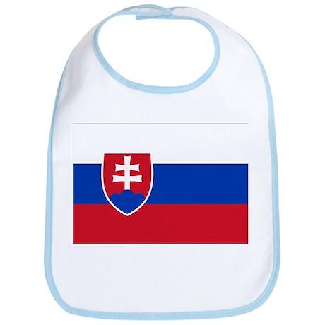Flag of Slovakia Bib