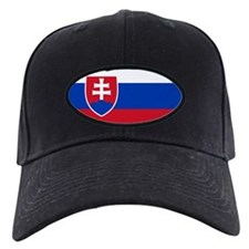 Flag of Slovakia Baseball Hat
